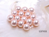 Wholesale 18mm Pink Round Seashell Pearl Bead