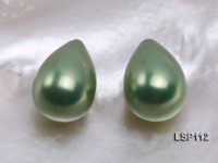 Wholesale 12X19mm Teardrop Loose Seashell Pearl