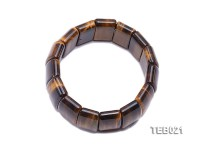 9x15x25mm Tiger Eye Elasticated Bracelet