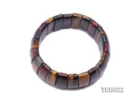 9×10.5x25mm Tiger Eye Beads Elasticated Bracelet