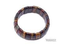 9×10.5x25mm Tiger Eye Beads Elasticated Bracelet