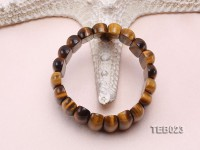 8x10x25mm Tiger Eye Elasticated Bracelet