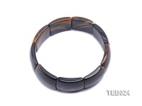7.5x22x19mm Tiger Eye Beads Elasticated Bracelet