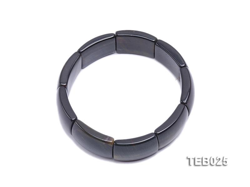 7.5x23x18mm Tiger Eye Elasticated Bracelet