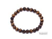 8mm Tiger Eye Elasticated Bracelet