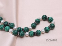 10mm Malachite Beads Necklace
