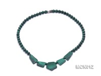 6.5mm Round Malachite Beads Necklace