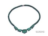 6.5mm Round Malachite Beads Necklace