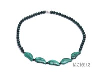 6mm Malachite Beads Necklace