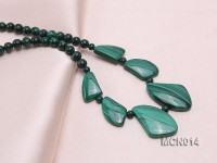 5mm Malachite Beads Necklace
