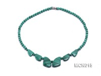 5mm Round Malachite Beads Necklace