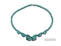 5mm Round Malachite Beads Necklace