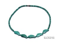 5.5mm Round Malachite Beads Necklace