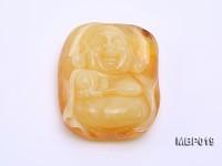 48X60mm Amber Pendant