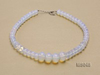 8×12-13x20mm Moonstone Beads Necklace