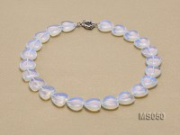 18x18mm Moonstone Necklace