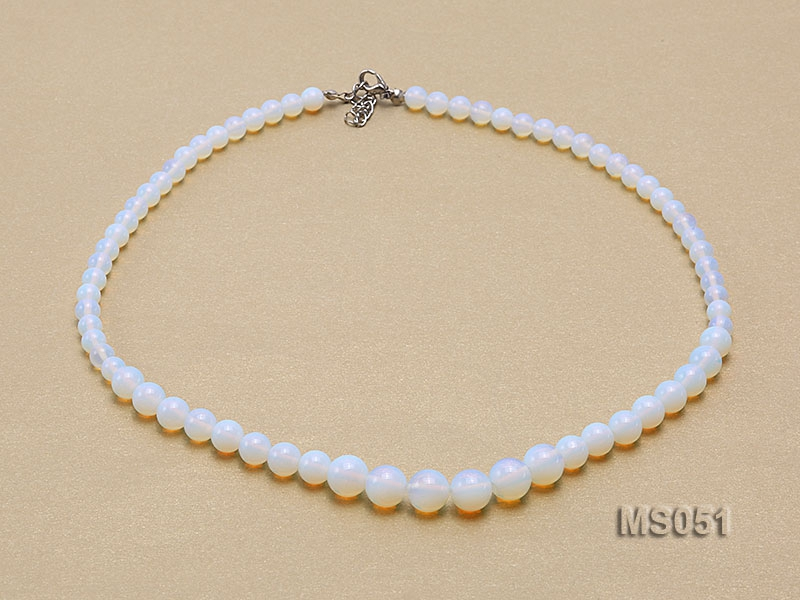 6-10mm Moonstone Necklace