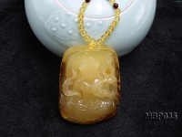 58X75mm Amber Pendant