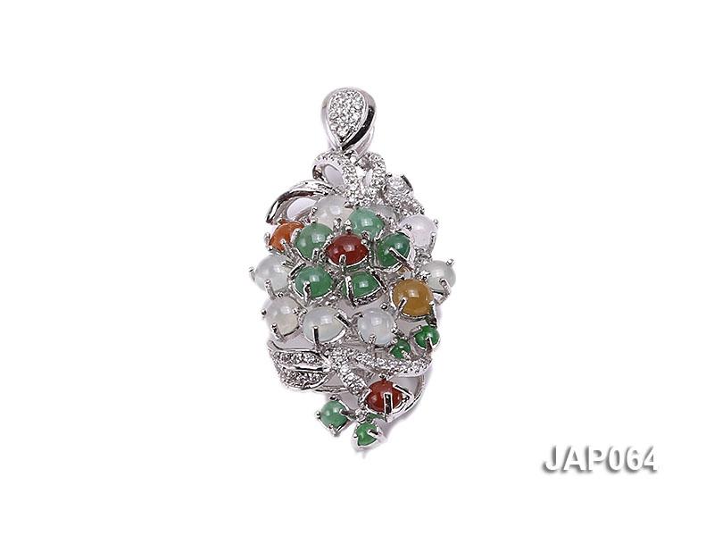 30x18mm Natural Jadeite Pendant