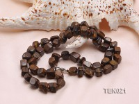 7x9mm Irregular Tiger Eye Necklace