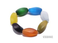 14x32mm Colorful Cat's Eye Beads Bracelet