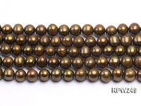 Wholesale 10-11mm Round Freshwater Pearl String