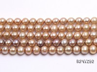 Wholesale 9-10mm Round Freshwater Pearl String