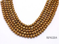 Wholesale 9-10mm Near Round Freshwater Pearl String