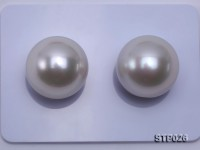 South Sea Pearl—AA-grade 15-16mm Classic White Round South Sea Pearl