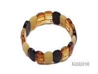 10x23mm Natural Amber Bracelet
