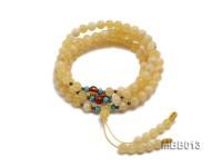 6.5mm Natural Round Amber Bracelet
