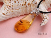 52x24mm Natural Amber Pendant