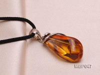 43x19mm Natural Amber Pendant