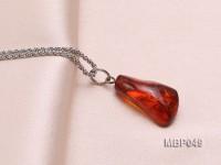 23x13mm Natural Amber Pendant