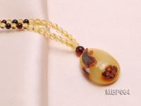 29x22mm Amber Pendant