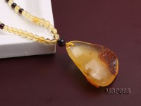 37x28mm Amber Pendant