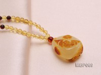 29x23mm Amber Pendant