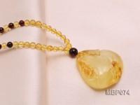33x31mm Amber Pendant