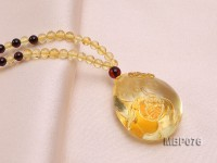 31x26mm Amber Pendant