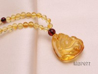 26x23mm Amber Pendant