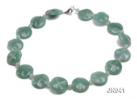 6.5-8x25mm Green Aventurine Jade Necklace