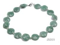 6.5-8x25mm Green Aventurine Jade Necklace