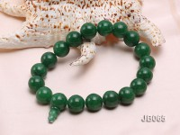 16mm Round Green Korean Jade Bracelet