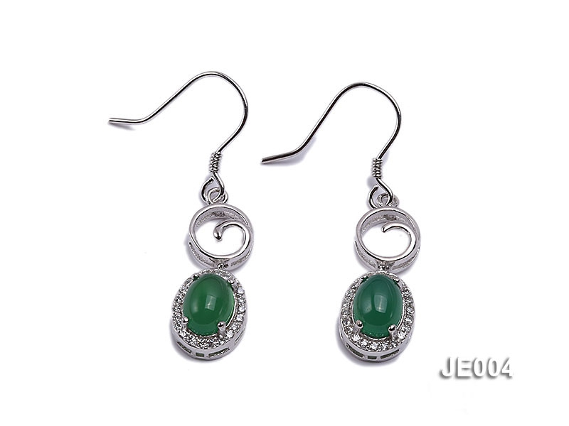 8x20mm Chrysoprase Earrings