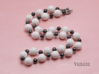 12mm Round Tridacna Beads Necklace