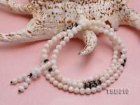 6mm Round Tridacna Beads Elastic Bracelet