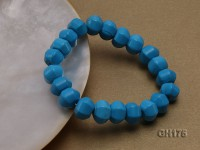11x9mm Blue Lantern-shaped Turquoise Bracelet