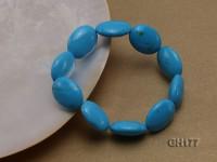 20x15x8mm Blue Turquoise Bracelet