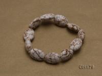 17x12x7mm White Turquoise Bracelet