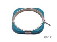 10x7mm Blue Turquoise Bracelet